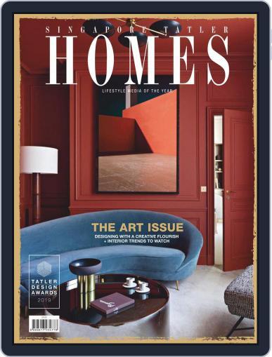 Tatler Homes Singapore February 1st, 2019 Digital Back Issue Cover