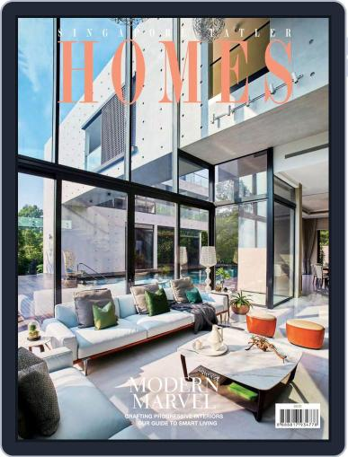 Tatler Homes Singapore October 1st, 2018 Digital Back Issue Cover