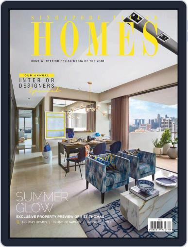 Tatler Homes Singapore (Digital) August 1st, 2018 Issue Cover