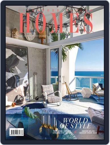 Tatler Homes Singapore June 1st, 2018 Digital Back Issue Cover