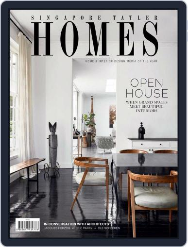 Tatler Homes Singapore (Digital) April 1st, 2018 Issue Cover