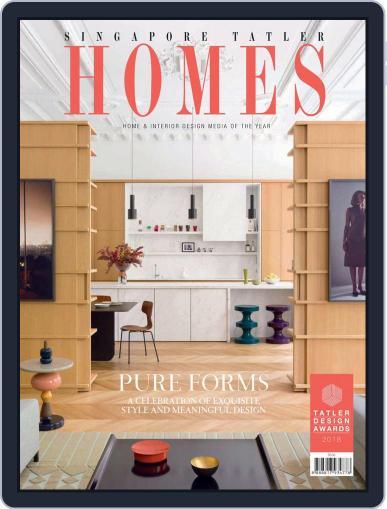 Tatler Homes Singapore February 1st, 2018 Digital Back Issue Cover