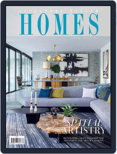 Tatler Homes Singapore October 1st, 2017 Digital Back Issue Cover