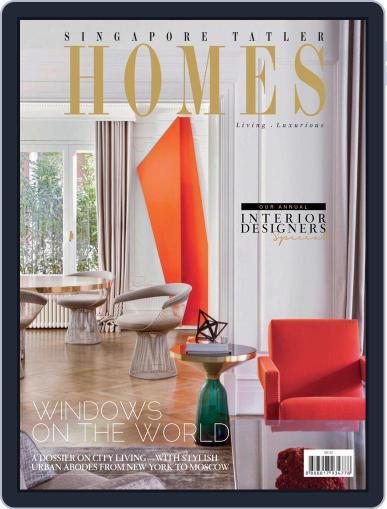Tatler Homes Singapore August 1st, 2017 Digital Back Issue Cover