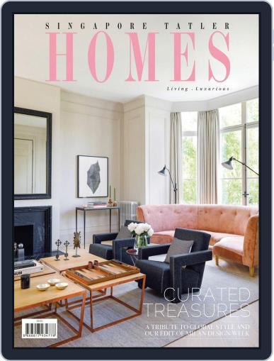 Tatler Homes Singapore June 1st, 2017 Digital Back Issue Cover