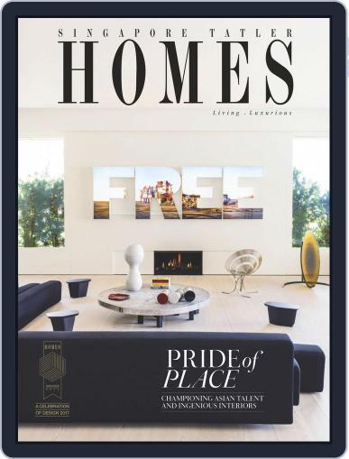 Tatler Homes Singapore February 1st, 2017 Digital Back Issue Cover