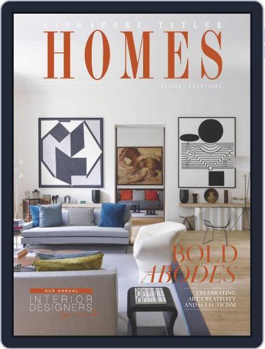 Tatler Homes Singapore December 1st, 2016 Digital Back Issue Cover