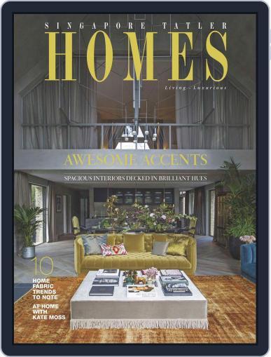 Tatler Homes Singapore October 1st, 2016 Digital Back Issue Cover