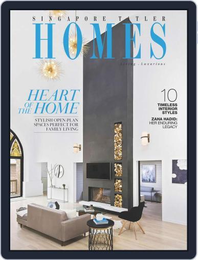 Tatler Homes Singapore June 6th, 2016 Digital Back Issue Cover