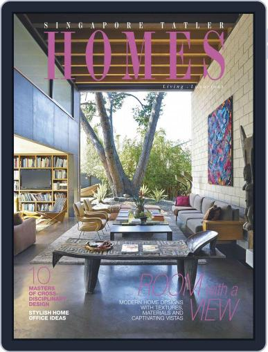Tatler Homes Singapore April 12th, 2016 Digital Back Issue Cover