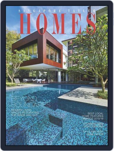 Tatler Homes Singapore February 18th, 2016 Digital Back Issue Cover
