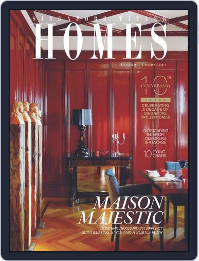 Tatler Homes Singapore December 1st, 2015 Digital Back Issue Cover