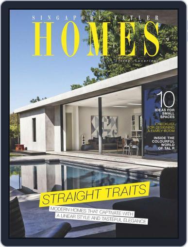 Tatler Homes Singapore October 1st, 2015 Digital Back Issue Cover
