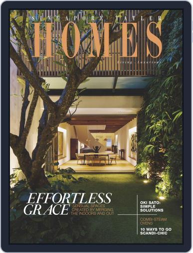 Tatler Homes Singapore June 4th, 2015 Digital Back Issue Cover