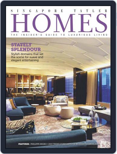 Tatler Homes Singapore February 5th, 2015 Digital Back Issue Cover
