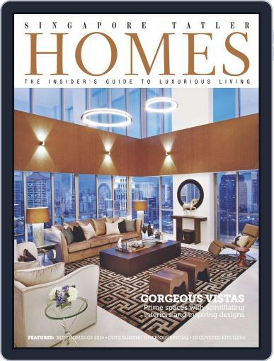 Tatler Homes Singapore December 15th, 2014 Digital Back Issue Cover