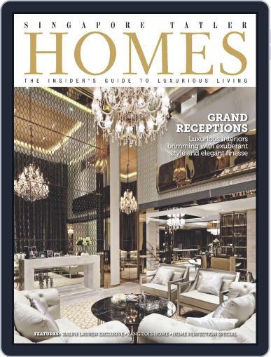 Tatler Homes Singapore October 8th, 2014 Digital Back Issue Cover