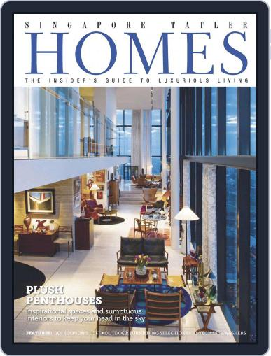 Tatler Homes Singapore August 25th, 2014 Digital Back Issue Cover