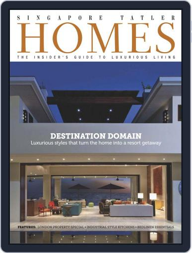 Tatler Homes Singapore June 4th, 2014 Digital Back Issue Cover