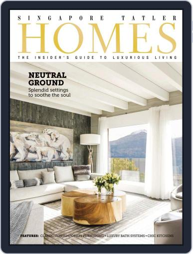 Tatler Homes Singapore April 6th, 2014 Digital Back Issue Cover