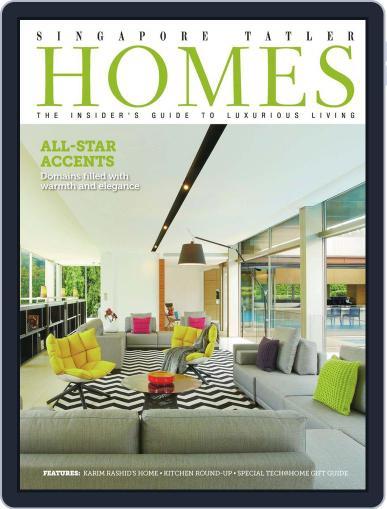 Tatler Homes Singapore December 6th, 2013 Digital Back Issue Cover