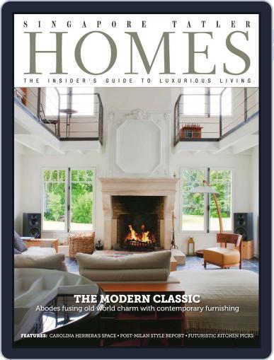 Tatler Homes Singapore October 6th, 2013 Digital Back Issue Cover