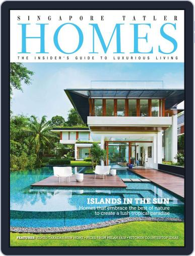 Tatler Homes Singapore August 6th, 2013 Digital Back Issue Cover