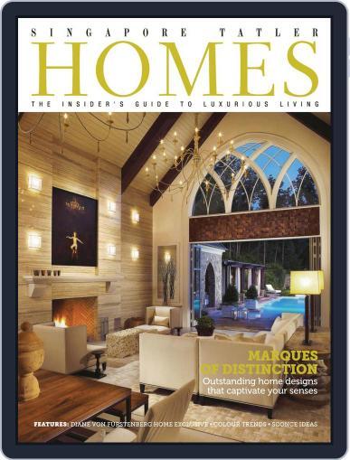 Tatler Homes Singapore June 9th, 2013 Digital Back Issue Cover