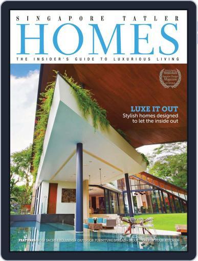 Tatler Homes Singapore April 10th, 2013 Digital Back Issue Cover