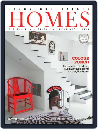 Tatler Homes Singapore February 12th, 2013 Digital Back Issue Cover