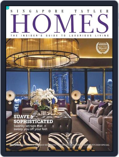 Tatler Homes Singapore December 14th, 2012 Digital Back Issue Cover