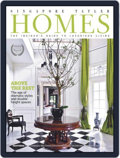 Tatler Homes Singapore October 9th, 2012 Digital Back Issue Cover