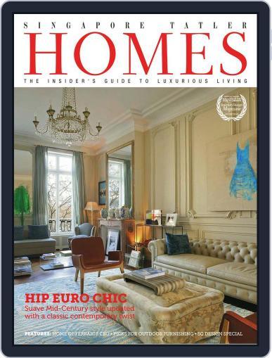 Tatler Homes Singapore August 1st, 2012 Digital Back Issue Cover