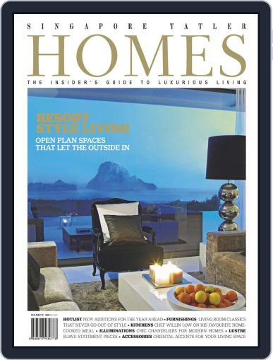 Tatler Homes Singapore April 16th, 2012 Digital Back Issue Cover