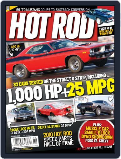 Hot Rod November 17th, 2009 Digital Back Issue Cover