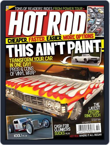 Hot Rod August 18th, 2009 Digital Back Issue Cover