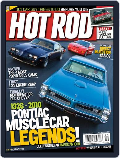 Hot Rod July 21st, 2009 Digital Back Issue Cover