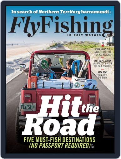 Fly Fishing In Salt Waters August 17th, 2013 Digital Back Issue Cover