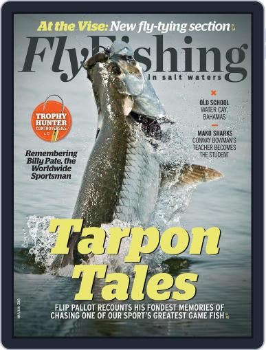 Fly Fishing In Salt Waters April 13th, 2013 Digital Back Issue Cover