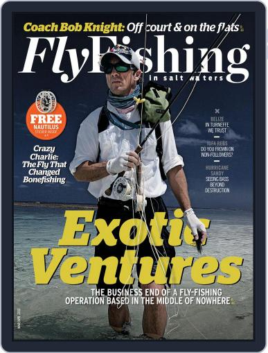 Fly Fishing In Salt Waters February 23rd, 2013 Digital Back Issue Cover