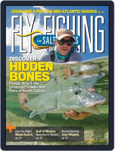 Fly Fishing In Salt Waters June 16th, 2012 Digital Back Issue Cover