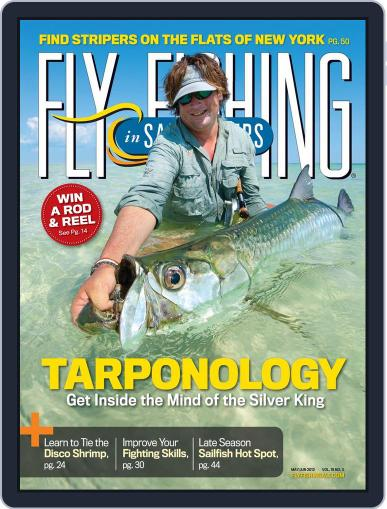 Fly Fishing In Salt Waters April 14th, 2012 Digital Back Issue Cover