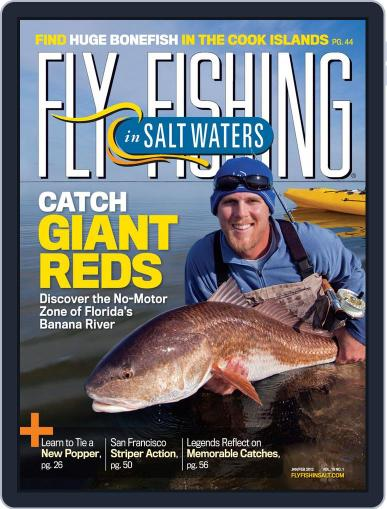 Fly Fishing In Salt Waters December 27th, 2011 Digital Back Issue Cover