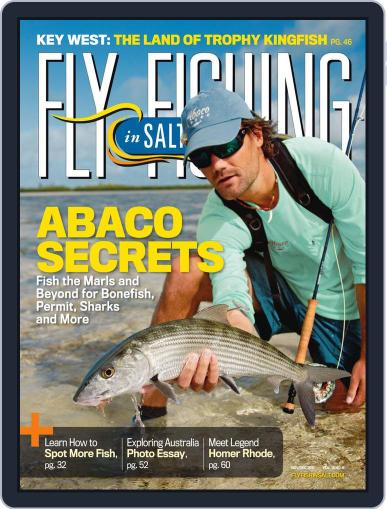 Fly Fishing In Salt Waters October 22nd, 2011 Digital Back Issue Cover