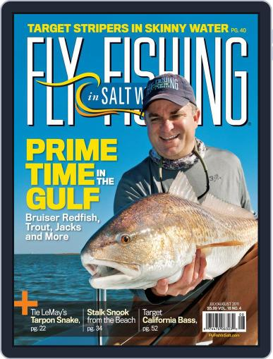 Fly Fishing In Salt Waters June 18th, 2011 Digital Back Issue Cover