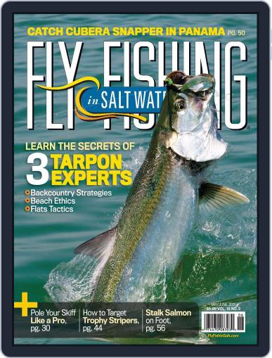 Fly Fishing In Salt Waters April 18th, 2011 Digital Back Issue Cover