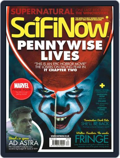 SciFi Now October 1st, 2019 Digital Back Issue Cover