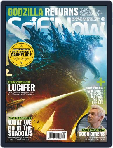 SciFi Now June 1st, 2019 Digital Back Issue Cover