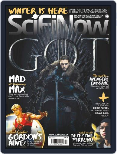 SciFi Now May 1st, 2019 Digital Back Issue Cover