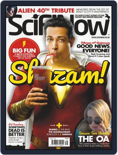 SciFi Now April 1st, 2019 Digital Back Issue Cover